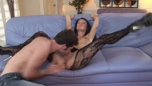 Hottest whore Victoria Sin has a thing for creampie
