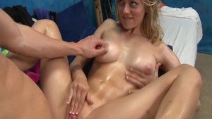 Hard pounding in company with young babe Alli Rae