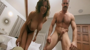 MILF Alexis Fawx cock sucking sex video