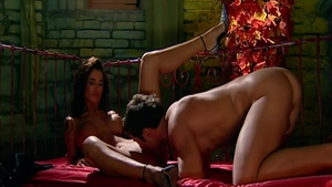 Pussy sex in the company of busty pornstar Nessa Devil
