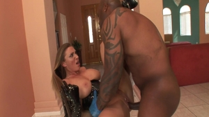 Devon Lee in sexy lingerie interracial banging HD