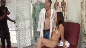 Hard pounding with bubble butt amateur Tiffany Doll