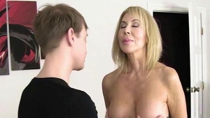 Young housewife Erica Lauren humiliation teasing HD