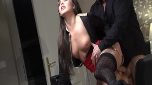 Romantic good fuck in company with gorgeous czech MILF