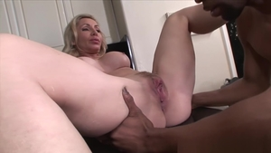 Hard nailining starring big boobs married woman Lisa Demarco