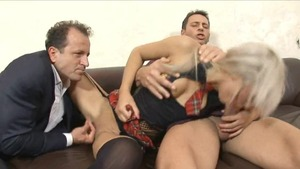 Blonde haired has a thing for hard fucking HD