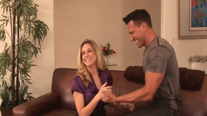 Blonde haired Angela Attison really likes good fucking HD