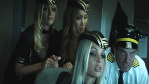 Threesome with Jenna Haze in tandem with Riley Steele