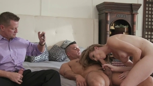 Ramming hard along with tight amateur Ashley Lane