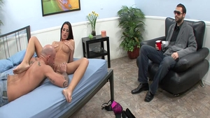 Busty spanish housewife Kortney Kane fucked in the ass cumshot