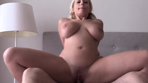 Good fuck escorted by nice blonde haired
