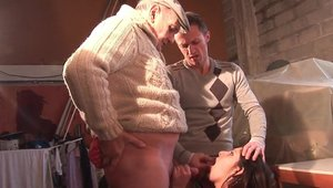 Nude french amateur threesome in HD