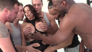 Big boobs brunette Alexis Fawx hardcore sucking dick HD