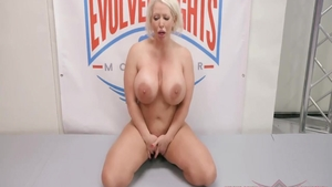 Pussy sex in the company of busty wife Alura Jenso