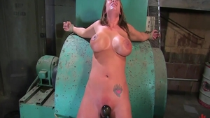 Couple Trina Michaels wax play during interview