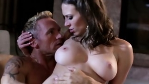 Real fucking along with busty whore
