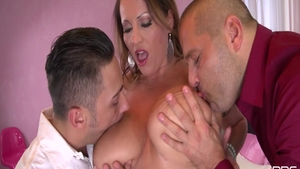 Blowjobs together with Laura Orsolya plus Victoria Daniels