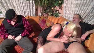 Busty german MILF has a thing for nailing