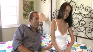 Babe Dillion Harper plowed by big cock guy