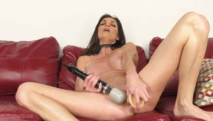 Plowing hard in company with slender MILF Silvia Saige