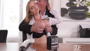 Mature Steve Holmes along with super tasty Suzie Moss