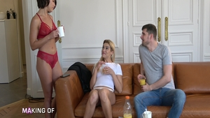 Pussy fucking together with Liya Silver & Adriana Chechik