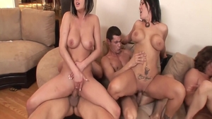 Big boobs & hottest Lindsey Meadows ass fucked