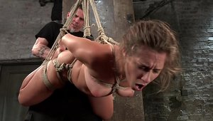 Big ass Cassidy Klein agrees to tied up