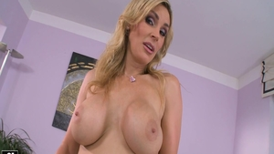 Big boobs sexy caucasian mature Tanya Tate hard masturbating