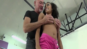 Hardcore real sex accompanied by young mature Alyssa Divine