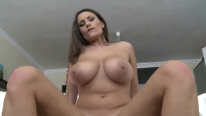 POV sex scene escorted by big boobs MILF
