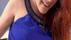 Amarna Miller is so very small tits redhead