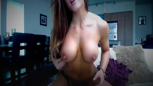 Very sexy brunette has a soft spot for teasing HD