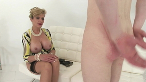 Lady Sonia is young cougar
