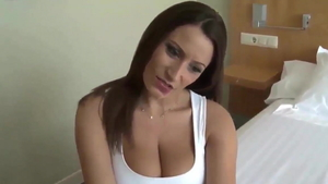 Big butt brunette cumshot doggystyle HD