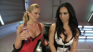 Huge boobs Cherie Deville with incredible Isis Love squirting