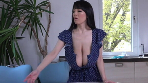 Natural Hitomi Tanaka softcore sexy dancing in the shower