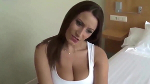 Large boobs german MILF doggy sex HD