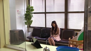 Cute doctor asian Maria Ono raw bondage in the clinic
