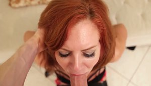 Raw sex escorted by redhead Andi James