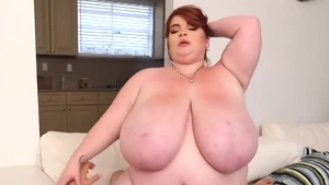 The best sex along with big boobs redhead Lexxxi Luxe