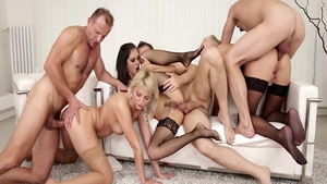Big tits Steve Qute orgy and Kayla Green at the party
