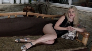 Perfect blonde babe wishes for rimming HD