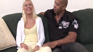 Blonde hair Cindy Crawford interracial bang porn