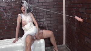 Blowjob accompanied by huge boobs whore Therese Bizarre