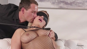 Kylie Page rough blindfolded porn
