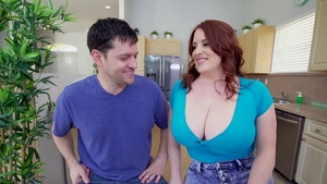 Large tits pornstar Maggie Green bouncing on cock