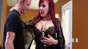 Huge tits babe Sexy Vanessa has a passion for hard slamming