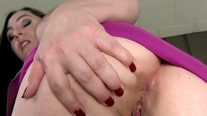 Rough sex in company with horny stepmom