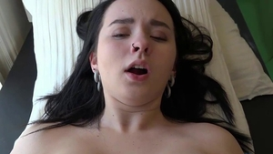 Pussy sex together with huge boobs pawg